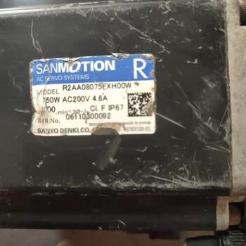 武漢三洋伺服電機現貨R2AA08075FXH00W議價
