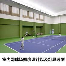 防眩光室内专业网球场led投射灯