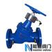 SP45F静态流量平衡阀图纸,流量平衡阀CAD,尺寸