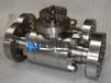 Q41F三锻式高压法兰球阀图纸,CAD,尺寸能恩阀门