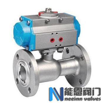 Q641M高溫氣動球閥圖紙,CAD,Q641M高溫氣動球閥尺寸能恩閥門