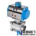 Q661F,Q661N氣動焊接球閥圖紙,CAD,尺寸能恩閥門