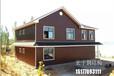 专业建造轻钢别墅、活动板房价格便宜