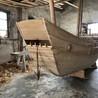 宁波红船生产厂家出售8米仿古帆船博物馆展示海盗船