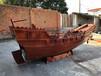 福建福州古帆船廠家出售精致船模加工定制6米福船展示船