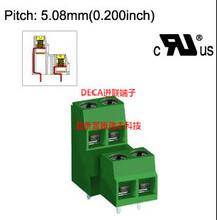 MB642-508原装DECA进联双排5.08间距绿色端子代理库存性价比高