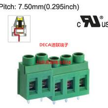 MB912-762M台湾DECA进联间距7.62绿色铜芯接线端子