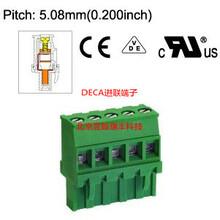 MC200-508原装DECA进联5.08间距直式插拔式插头端子