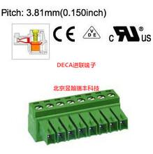 MC420-381/MC420-350全新原装台湾DECA进联插拔式接线端子插头