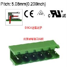 ME010-508全新原装台湾DECA进联5.08间距插拔式端子插座