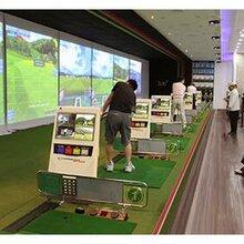 全国安装韩国进口高尔夫模拟器模拟高尔夫室内高尔夫