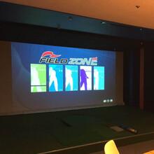 全国安装韩国原装高尔夫模拟器室内高尔夫模拟高尔夫