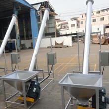 耐磨沙子螺旋提升机加工定制有轴螺旋输送机结构特性图片
