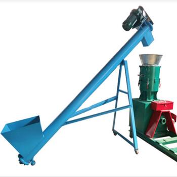 16管径移动式螺旋上料机多用途特价螺旋提升机厂