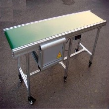 鋁型材生產線不銹鋼白色pvc皮帶機Ljxy優質鋁型材輸送