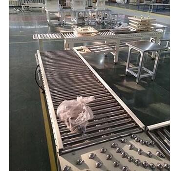 自動滾筒輸送線自動化包裝流水線設備Ljxy輕型懸掛鏈輸