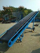 封闭式爬坡皮带输送机皮带机型号大全高品质耐用输送机图片