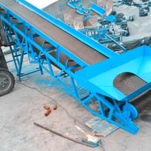 原裝皮帶輸送機廠家軸承座型號大全圖鋁合金爬坡皮帶機圖片