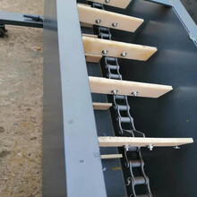可彎曲刮板輸送機鏈式粉料刮板輸送機圖片