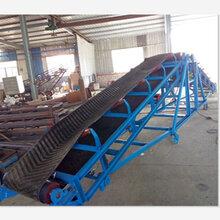 大倾角皮带机装车输送机价格兴运机械批发价格Ljy1图片