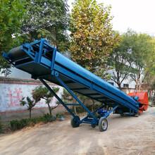 堆料式皮帶輸送機自動拔料輸送機拔料皮帶機圖片