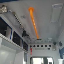 急救车转运型救护车,西藏福特全顺救护车图片