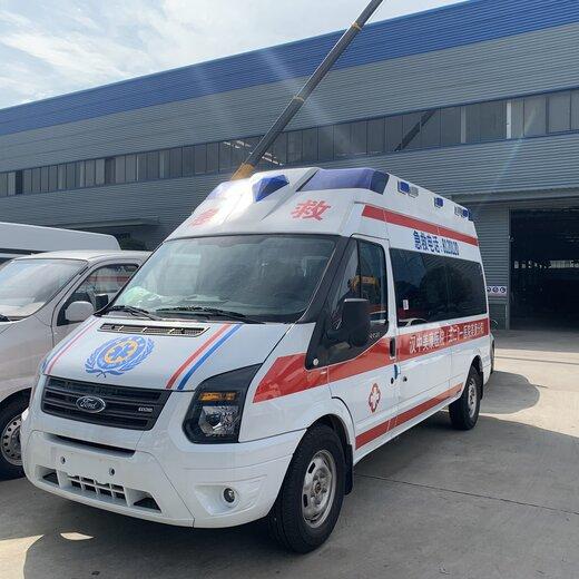 新款救护车怎么样,伤残转运车