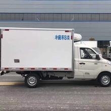 福田冷冻车,销售福田冷藏车售后保障图片