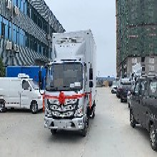 福田福田冷藏车冷冻车图片