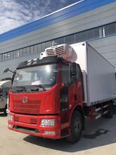 陕西大型解放冷藏车价格实惠,蔬菜运输车图片