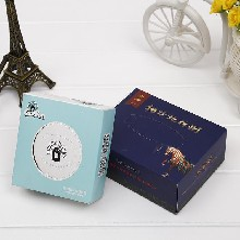 广州房地产盒装纸巾定做烟盒纸巾抽纸定做
