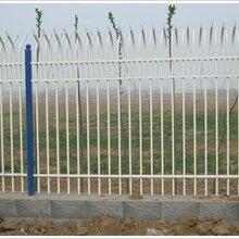 道路护栏锌钢护栏,铁艺栅栏,PVC塑钢护栏,锌钢栅栏护栏欧式栅栏-三横锌钢栅栏