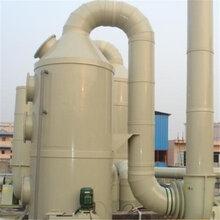 酸霧廢氣處理塔PP噴淋塔廢氣處理設備環保水淋式凈化塔除粉塵除漆霧