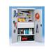 重型置物柜双门内侧挂板零件柜工具柜零件盒柜钢板储物柜可订制