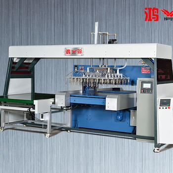 数控下料机单双边PLC液压四柱东莞鸿羽机械手油压吸塑直销厂
