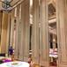 广东酒店隔断活动隔断移动屏风折叠门推拉门移动隔断厂家