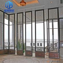 酒店屏风隔断隔音隔墙隔断移门有框玻璃厂家直供