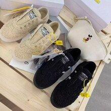 韩国泰迪鞋,新款女士冬款棉鞋,一鞋两用图片