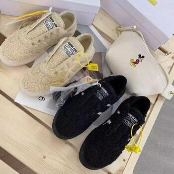 韩国泰迪鞋,新款女士冬款棉鞋,一鞋两用