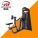 山西大同商用健身房力量器械健身器材厂家必确坐式平行拉背训练器