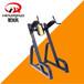 安徽阜阳商用健身器材厂家健身房力量器械必确系列双杠提膝训练器