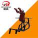 浙江杭州商用健身器材厂家健身房专用器械必确系列哈克深蹲机训练器