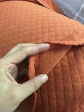 纯色全棉夹丝棉