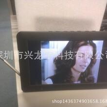 7寸DVB-T2兼容ISDB-TFULLSEG数字电视插卡音箱便携电视