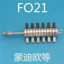 李氏二合一汽车钥匙读齿器工具FO21厂家直销
