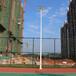江门市篮球场照明施工哪里有上门安装的灯杆厂家4根6米篮球场灯杆需要多少钱