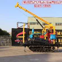 热销公路勘测钻机岩芯水井钻机l履带钻机专门定制图片