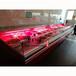 中意創展---浙江舟山冰臺海鮮展示柜超市不銹鋼冰鮮臺