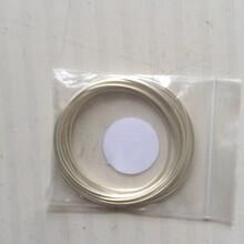高純銀絲01-2mm銀絲高純銀片銀顆粒銀電極導線圖片