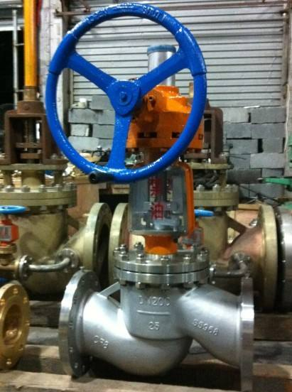 JY541W锤齿轮氧气专用截止阀
